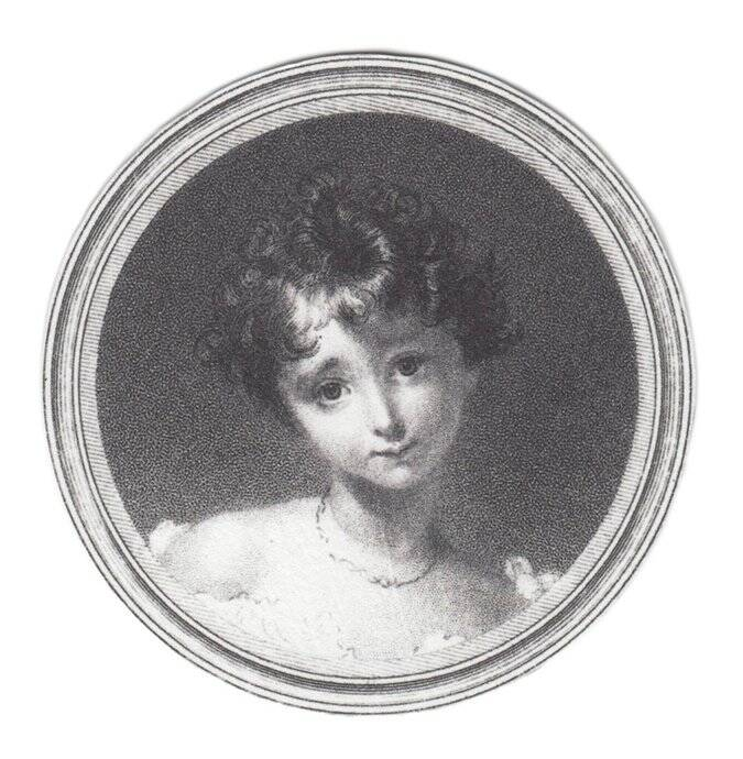 Ada Lovelace Childhood Portrait