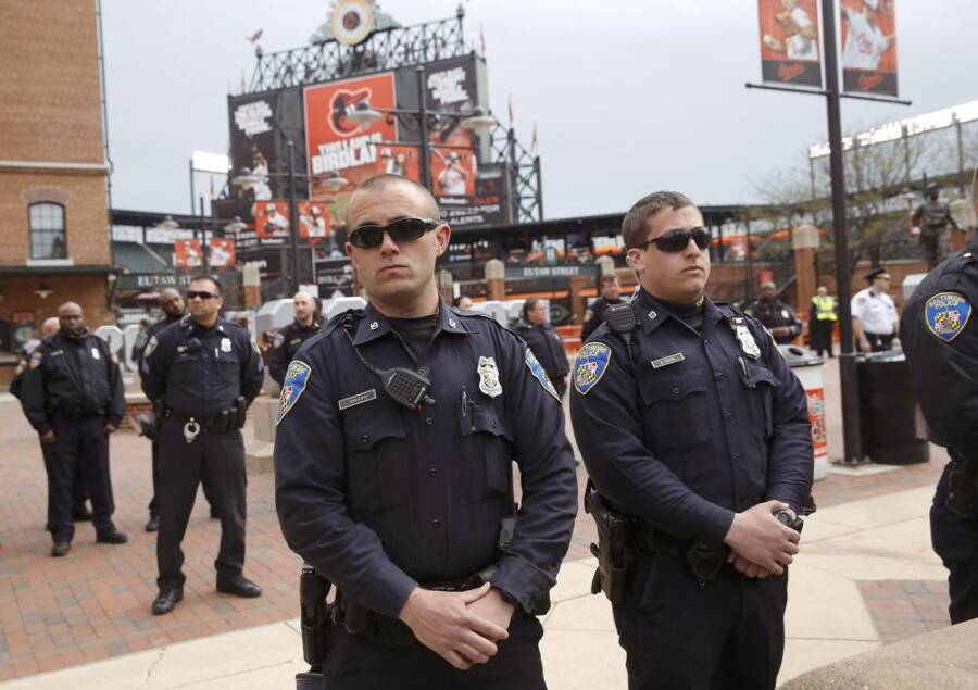 Baltimore Police Officers