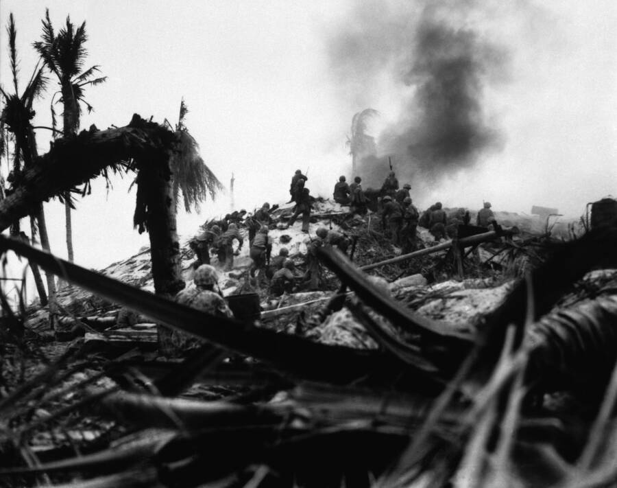 Battle Of Tarawa Lt Bonnyman
