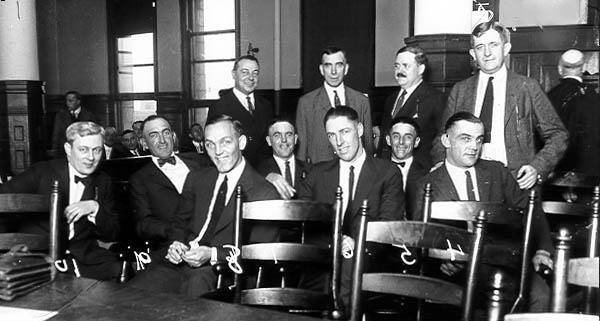 White Sox Players In Court