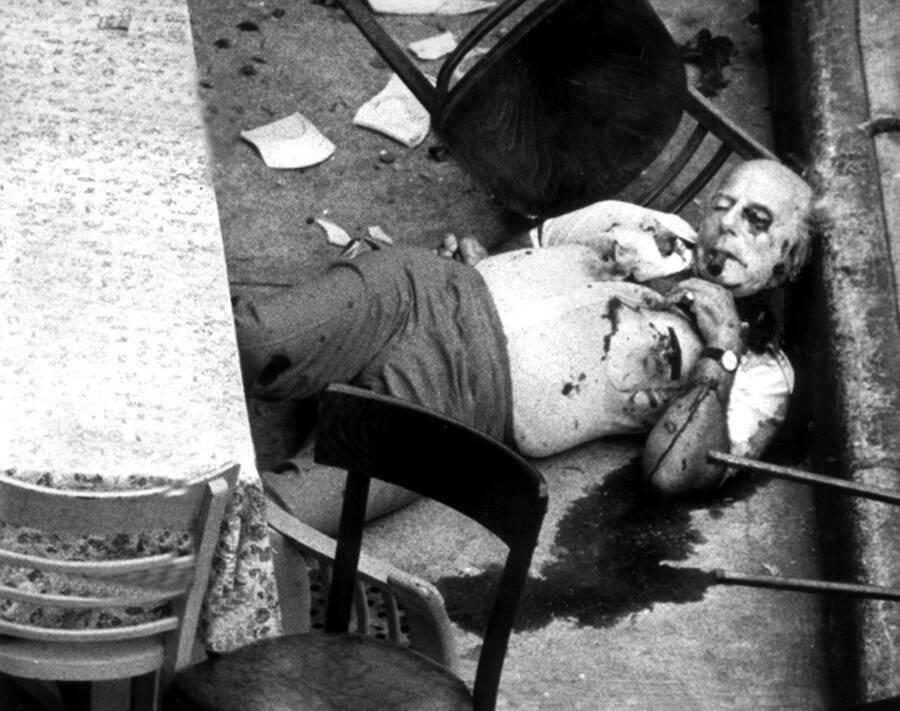Carmine Galante Dead Body