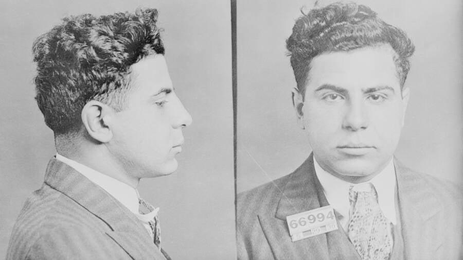 Carmine Galante's Mugshot From 1930