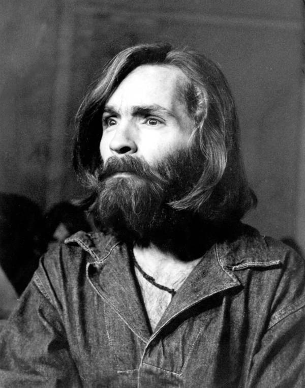 Charles Manson At Trial