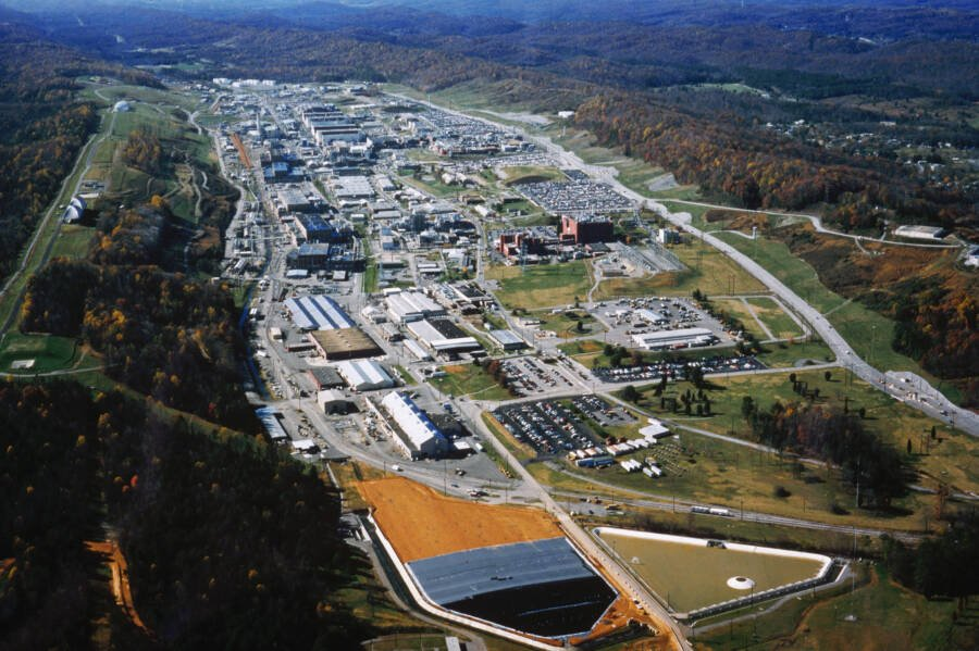 Aerial View Of Oak Ridge Plant