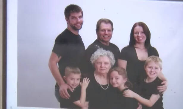 Doris Stauffer Family Portrait