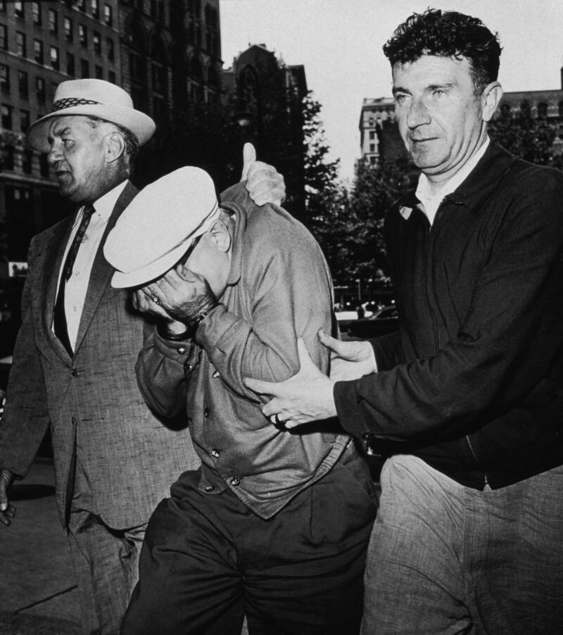 Galante Being Escorted To Court In 1959