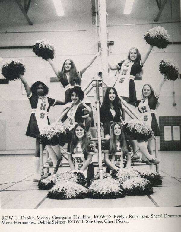 Ted Bundy Victim Georgann Hawkins As A Cheerleader