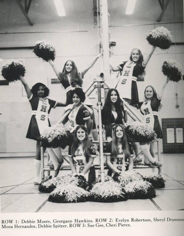Ted Bundy Victim Georgann Hawkins As A Cheerleader