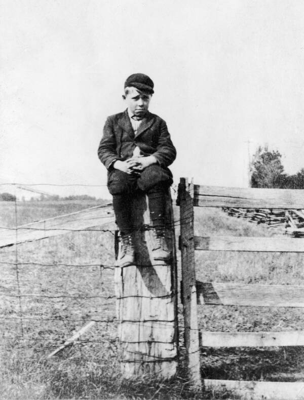 John Dillinger As A Young Boy