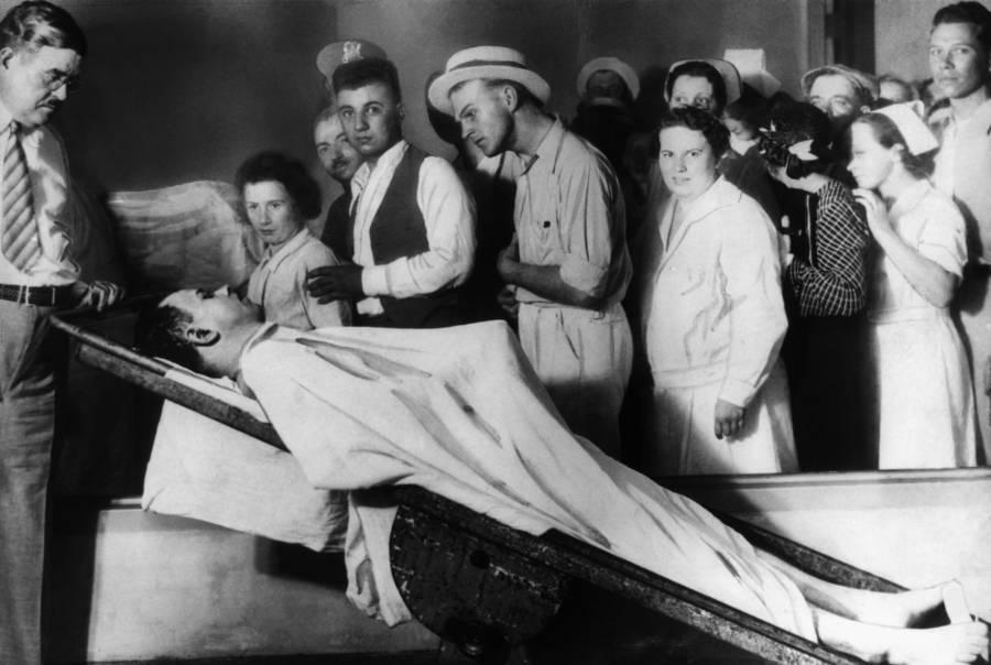 John Dillinger's Corpse