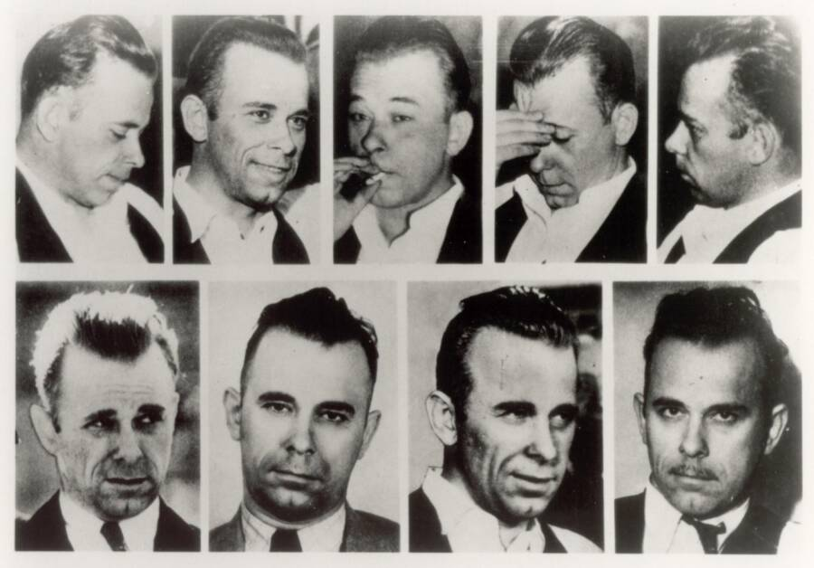 John Dillinger Different Faces