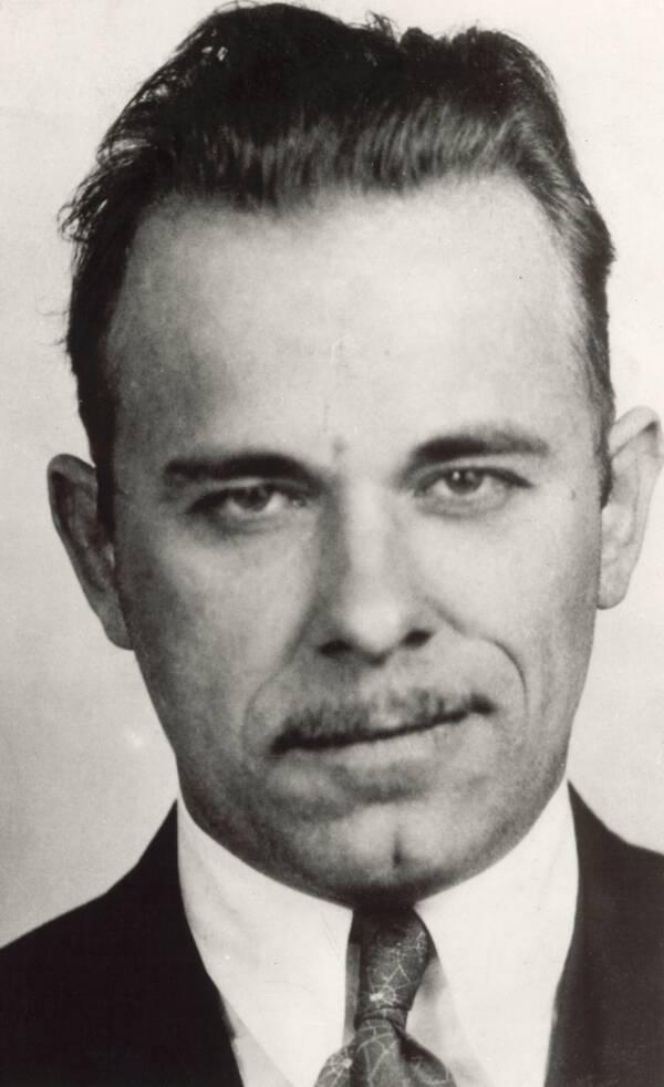 John Dillinger FBI Mugshot