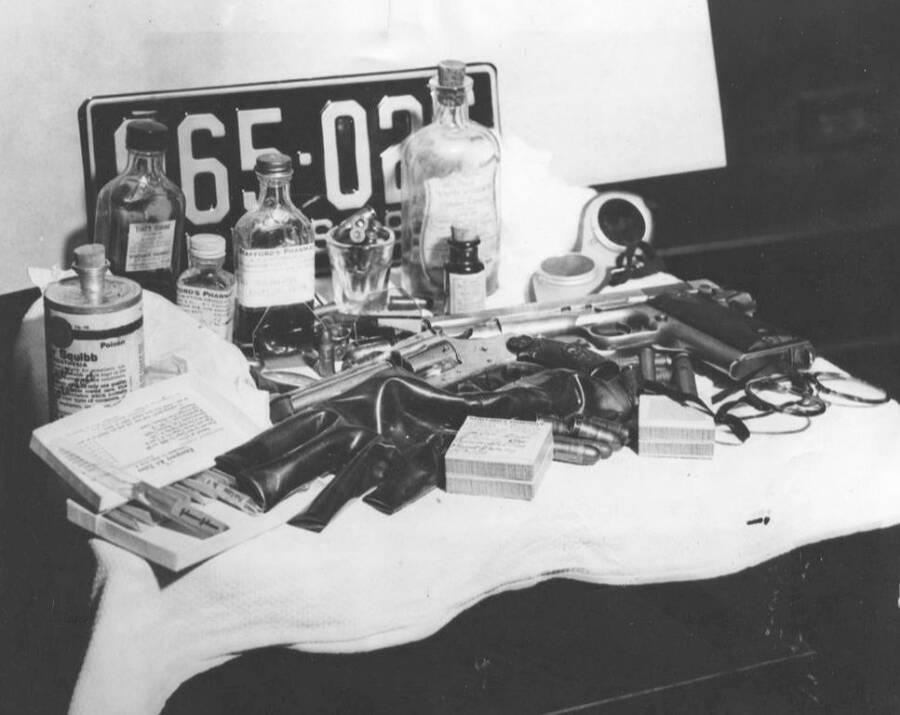 John Dillinger Plastic Surgery Tools
