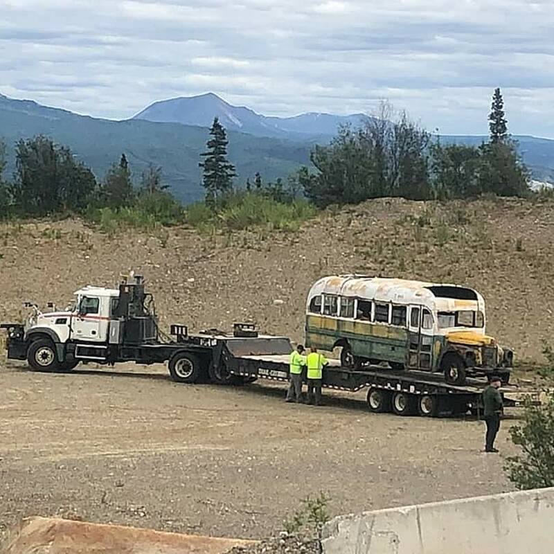 Removal Of Fairbanks Bus 142