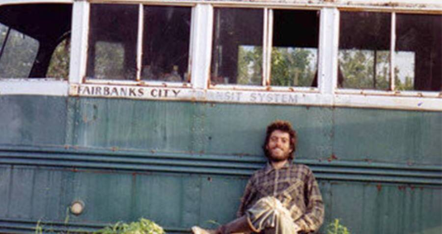 Chris McCandless Into The Wild Bus