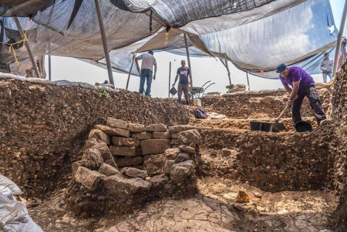 Motza Jerusalem Dig Site