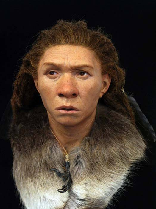 Neanderthal Woman Facial Reconstruction
