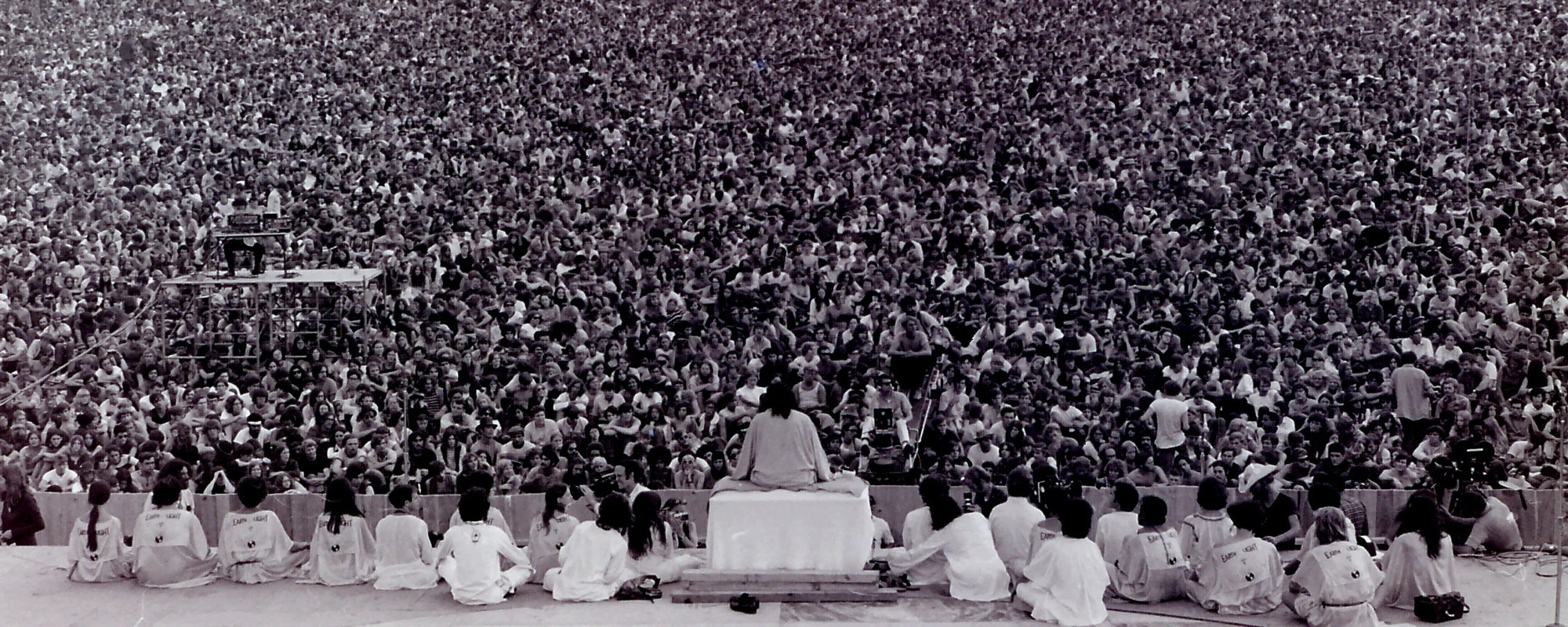 Woodstock Music Festival Opening Ceremony