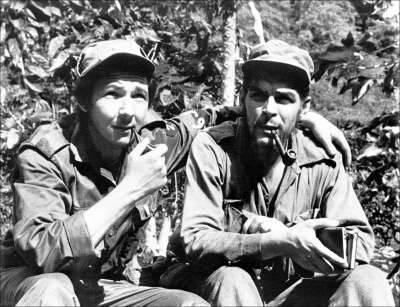 Raul Castro And Ernesto Che Guevara