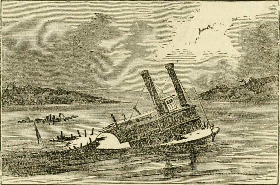 The Sinking Steamboat