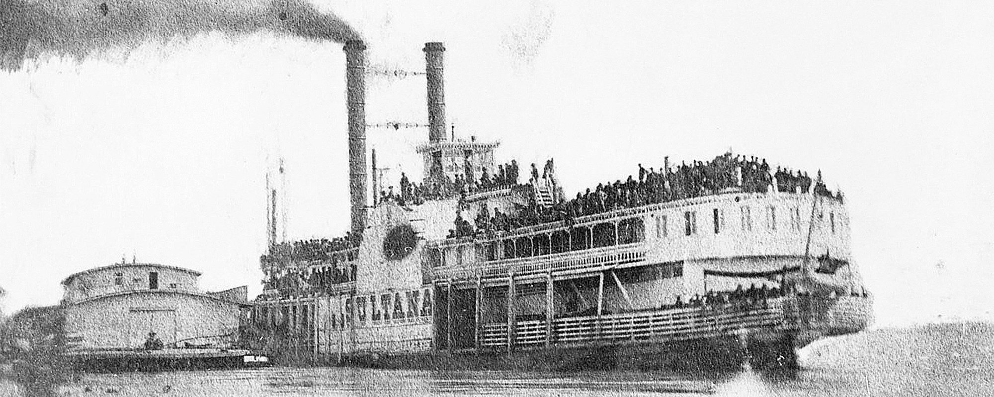 Sultana Overcrowded In River Featured
