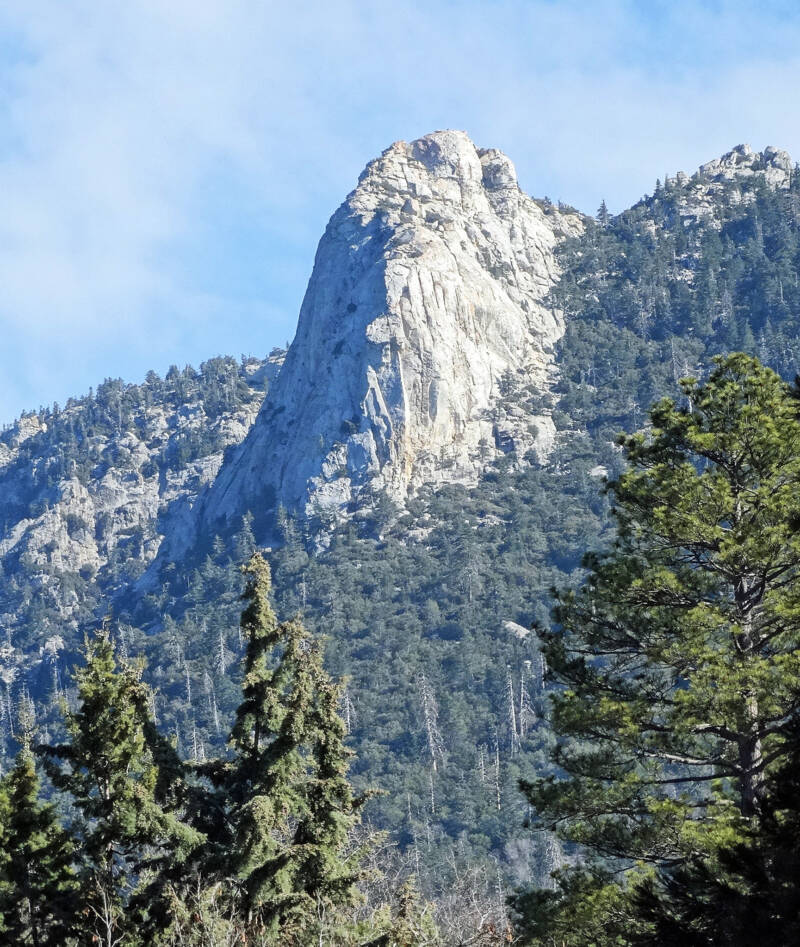 Tahquitz Rock In Idyllwild