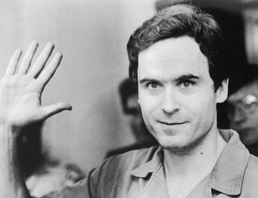 Ted Bundy Raising Hand
