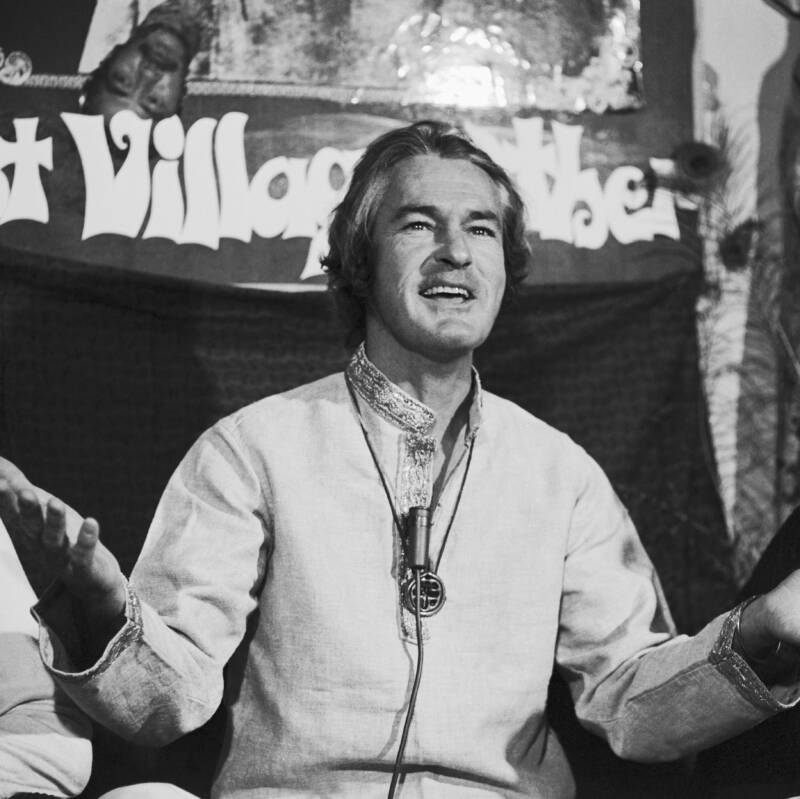Timothy Leary In 1968