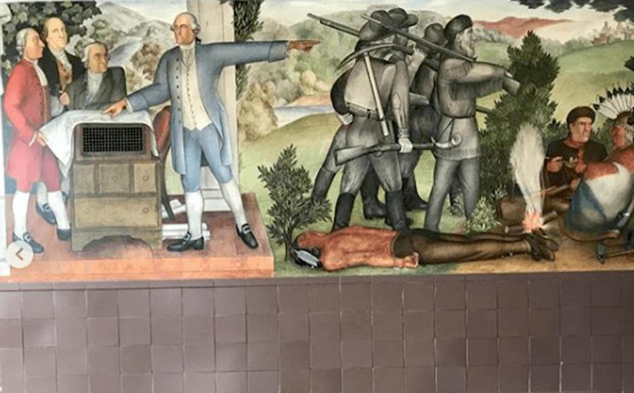 Washington High School Mural