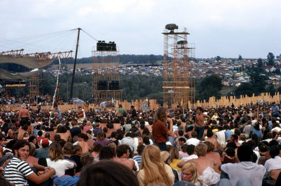 Woodstock Crowd During Joe Cocker Set