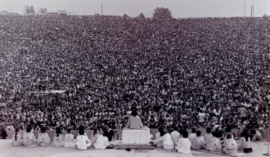 Woodstock Swami Yoga Blessing