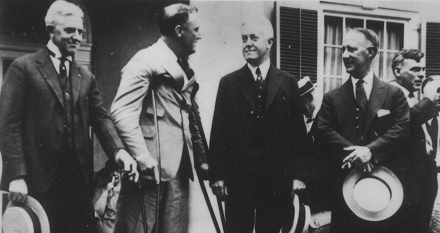 FDR With Conspiracy Plotters