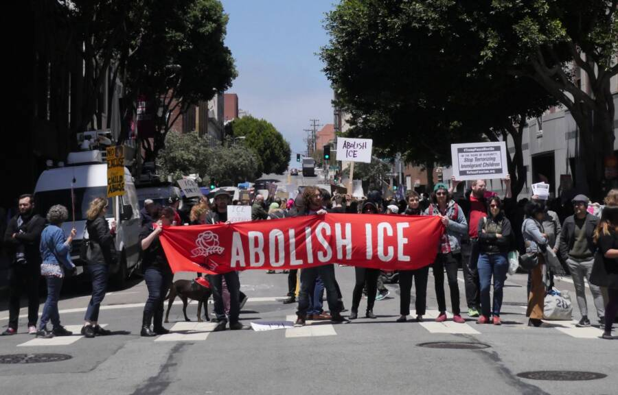 People Protesting Against ICE