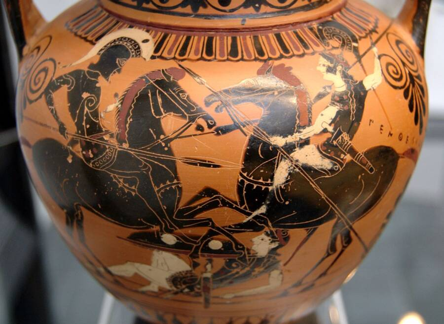 Achilles And Penthesilea