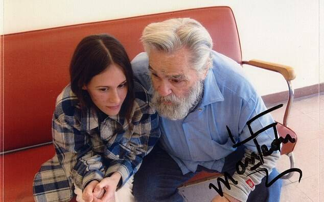 Afton Burton Sits With Charles Manson