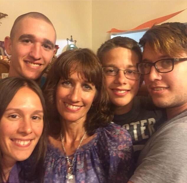 Afton Burton With Family