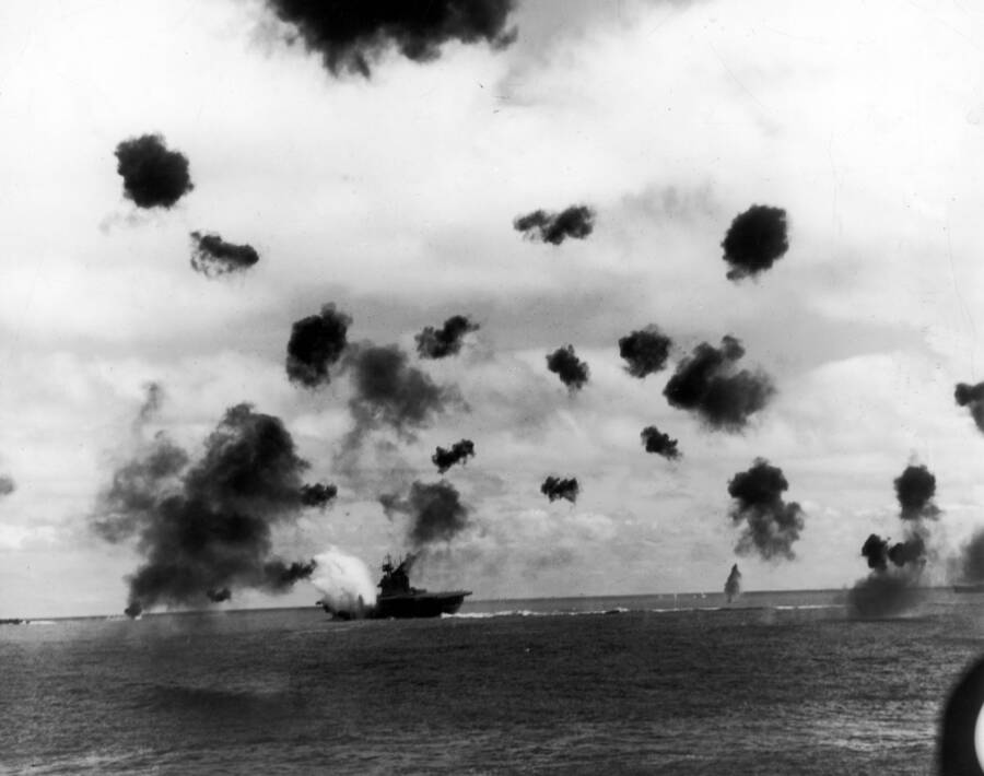 Air Battle In The Pacific Theater