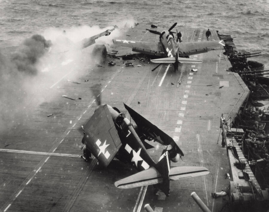 Aircraft Carrier After Attack