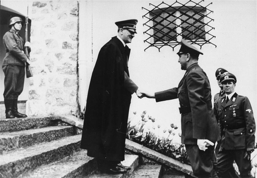 Ante Pavelic Meets Adolf Hitler