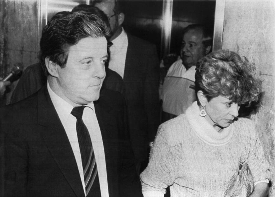 Anthony Spilotro With His Wife, Nancy
