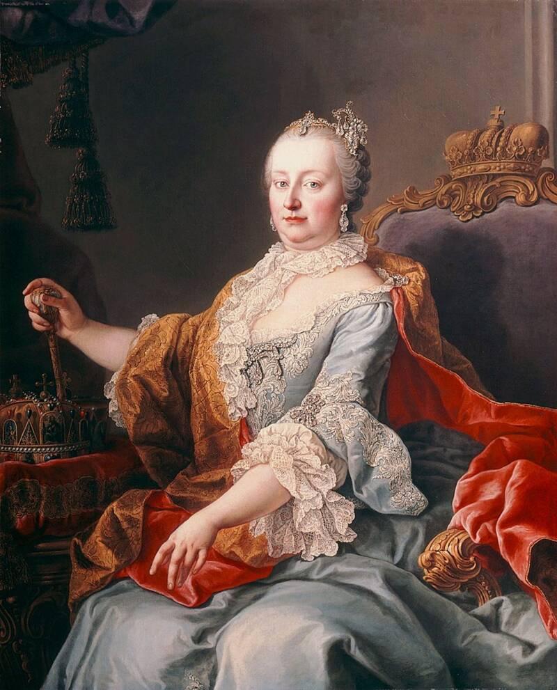Austrian Empress Maria Theresa