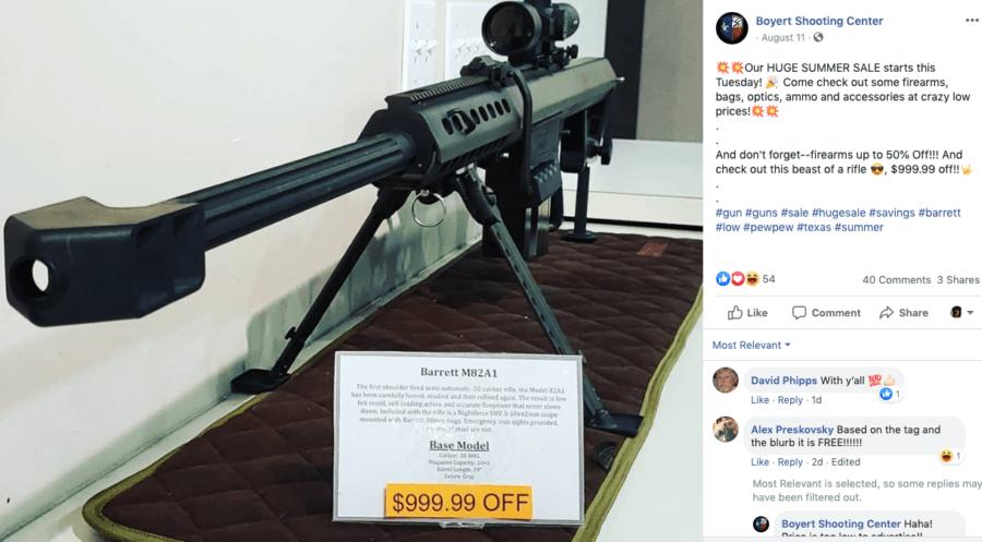 Boyert Shooting Center Gun
