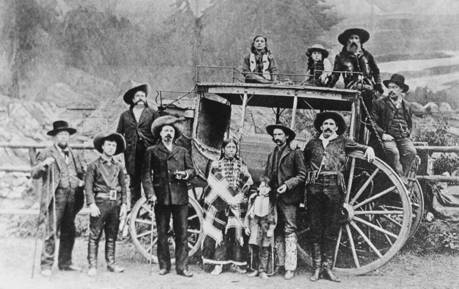 Buffalo Bill And His Wild West Troupe