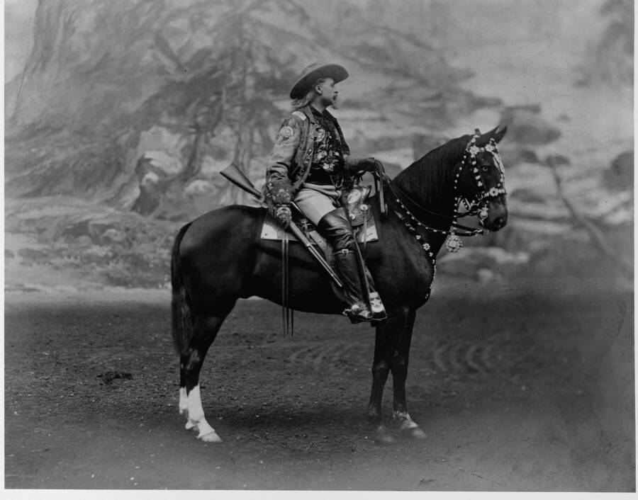 Buffalo Bill On Horseback