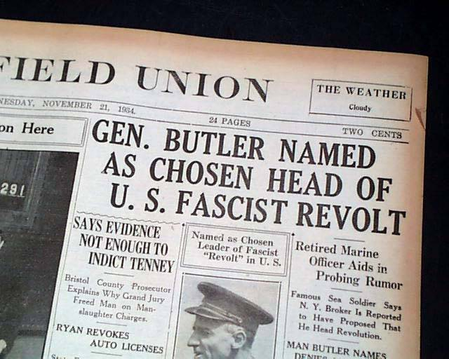 Butler's Claims Published In A Newspaper