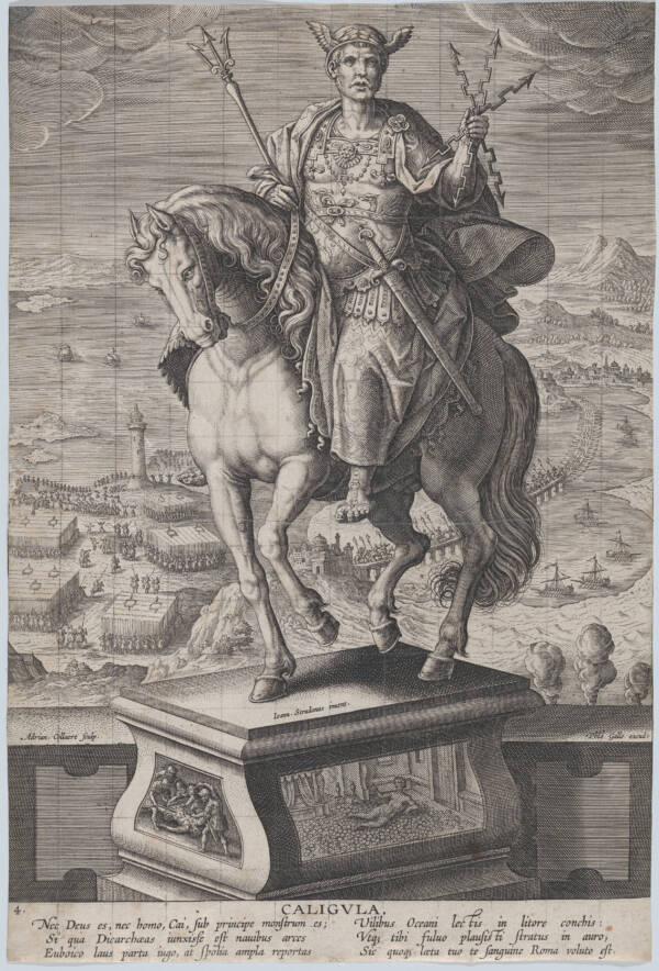 Caligula On Horseback