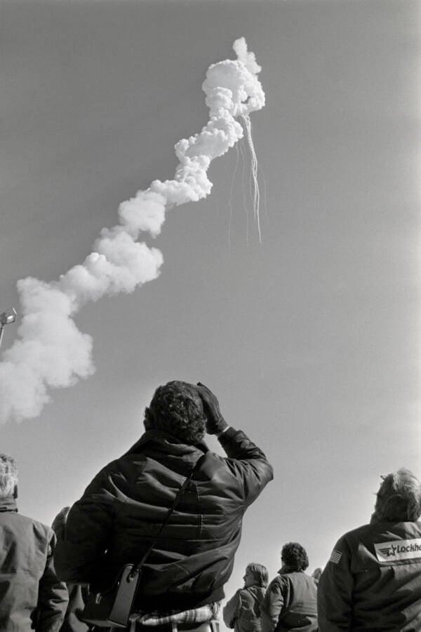 Challenger Explodes