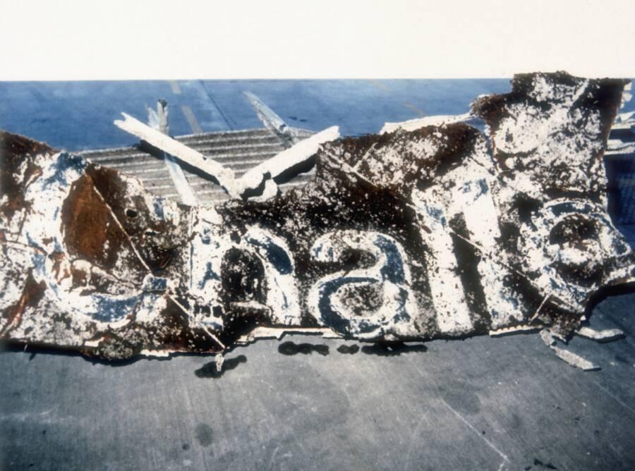 Challenger Wreckage