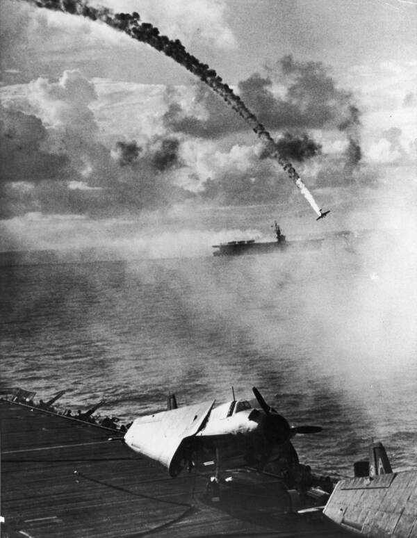 Chaos During Kamikaze Attack