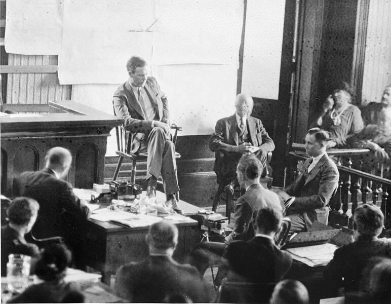 Charles Lindbergh Testifying On The Stand